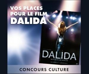 Elle.fr : Des invitations pour voir le film Dalida en salle