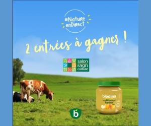 Bledina des entr es pour le salon international de l 39 agriculture jeux concours - Tarif entree salon de l agriculture ...