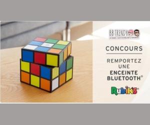 BB Trendy : Une enceinte Bluetooth Rubiks