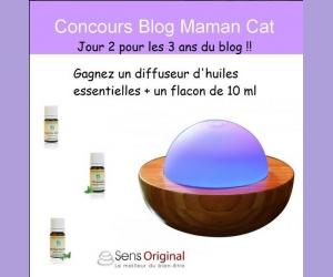 Maman Cat : Un diffuseur d'huiles essentielles