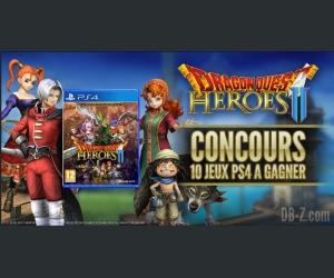 db-z.com : Des jeux Dragon Quest Heroes 2 avec Square Enix