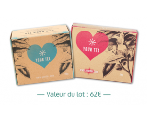 Voici : 48 packs Your tea