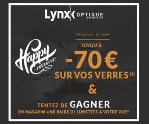 Lynx Optique : Une paire de lunettes à gagner