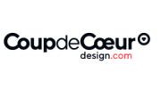 logo Coup de Cœur Design