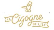 logo La Cigogne de Lily