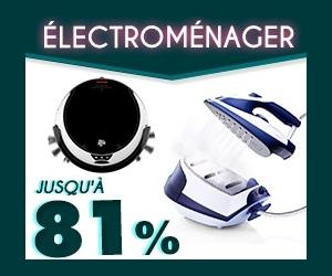 L'Electroménager jusqu'à -81% chez Cdiscount
