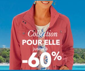 Les vêtements femme jusqu'à -60%