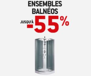 VENTE FLASH Ensembles Balnéos jusqu'à -55%