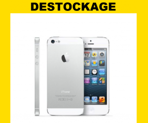 DÉSTOCKAGE ! I-Phone 5 blanc 32 GO pour 279€