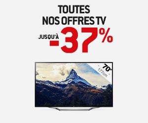 Téléviseurs HD jusqu'à -37% !