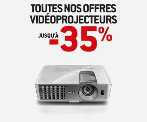 Vidéoprojecteurs jusqu'à -35%