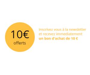 10€ Offerts à l'inscription sur le site !