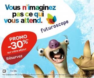 Coupon reduction futuroscope