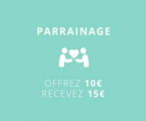 15€ de remise sur votre commande
