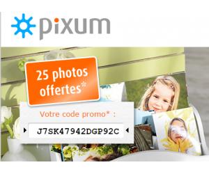 code reduction pixum promo frais de port offert et promotion valide pixum fr