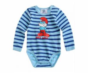 Le body pour bébé Les Schtroumpfs à 4€45 seulement