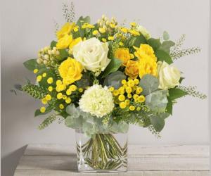 Commandez avec un rabais de 2€ le bouquet Sunshine