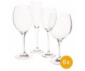 Lot de 24 verres transparent Maxima à seulement 119,00 €