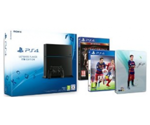 PS4 1To + Fifa 16 + Steelbook exclusif Fifa 16 + Metal Gear Solid V à 399€