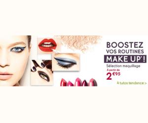 Sélection maquillage dès 2€95
