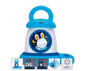 Veilleuse Torche Kid'Sleep my Lantern bleue à 27€99