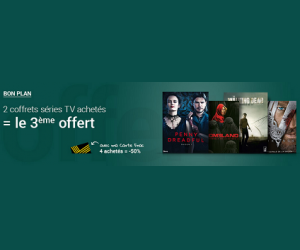 2 coffrets séries TV achetés = 3ème offert
