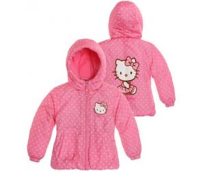 Doudoune Hello Kitty fushia à 19.95€