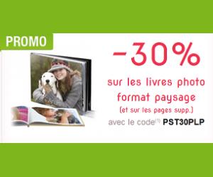-30% sur les livres photo format paysage