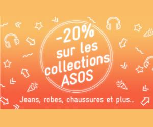Moins 20% sue les collections Asos