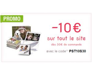 10€ de moins sur tout le site