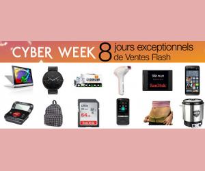Prix cassés durant la Cyber week