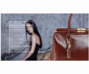 Jusqu'à moins 84% sur les sacs Viola Castellani
