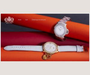 Jusqu'à -83% sur les montres Elite