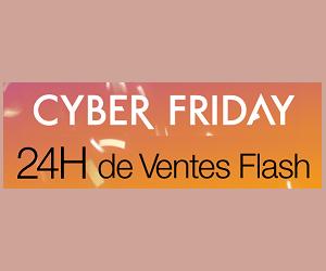 Sélection d'articles en promotion avec l'offre Cyber Friday