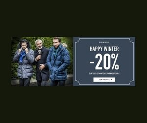 Offre Happy Winter avec moins 20%