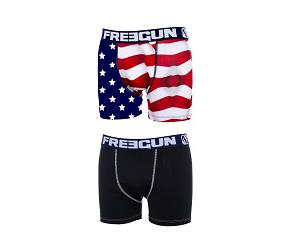 Lot de 2 Boxers Us Boyz Flag à -40%