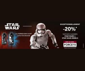 Les gammes Stars wars et Star Wars Rebels à -20%
