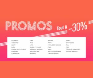 Profitez des promo à -30% chez ASOS