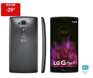 LG G Flex 2 Titane soldé à 249€ contre 349€90 normalement