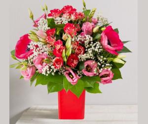 Bouquet Déclaration et son vase offert à -13%