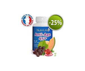 Anti- Age 45+ avec 25% de réduction