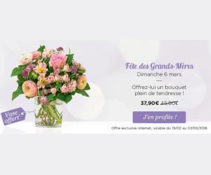 -17% sur le bouquet Câline pour la fête des Grands-Mères