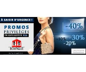 Promos privilèges jusqu'à -40% à profiter