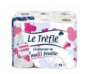 Papier toilette Le Trèfle