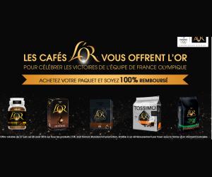 Café L'or 100% remboursés