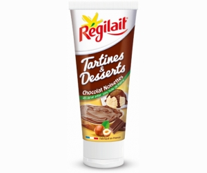 Régilait tartines et desserts choco/noisette
