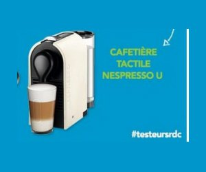 test de produit cafeti re tactile nespresso u. Black Bedroom Furniture Sets. Home Design Ideas