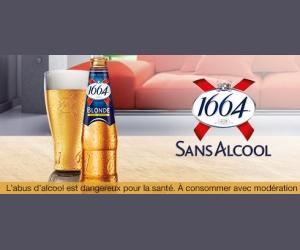 Test produit Sampleo : 6000 Packs 1664 Sans Alcool