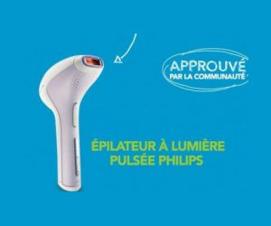 test de produit epilateur lumi re puls e phili. Black Bedroom Furniture Sets. Home Design Ideas