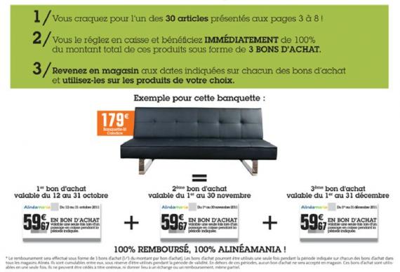 Alin A Les 100 Rembours S Promotion